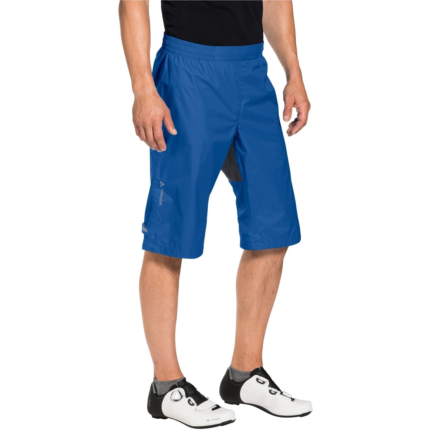 Bild von Vaude Drop Shorts Rad Regenhose - signal blue