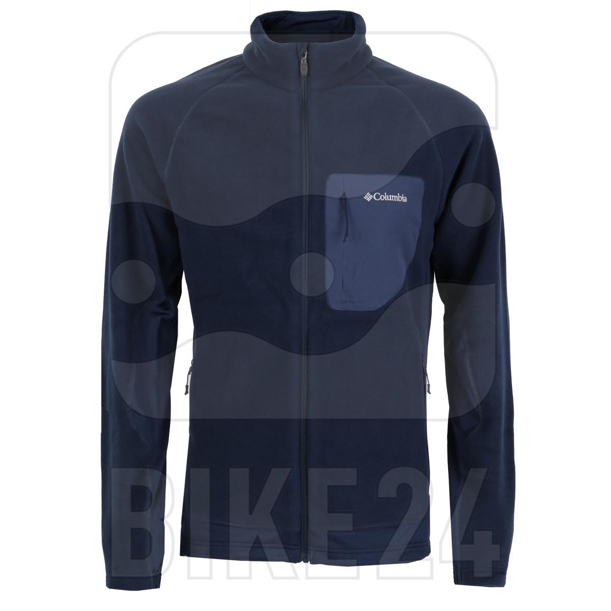 Columbia Polar Powder Full Zip Fleece Jacket - Collegiate Navy