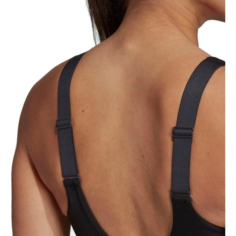 Image of adidas Women's Stronger For It Soft Bra - black/carbon D93108