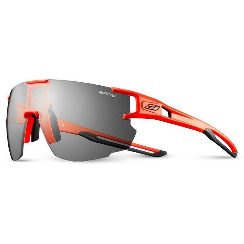 Julbo Aerospeed Segment Reactiv Performance 0-3 Brille - Flou Orange/Schwarz