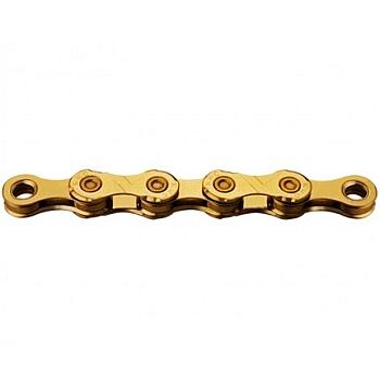 KMC X12 Ti-N Kette - 12-fach - gold