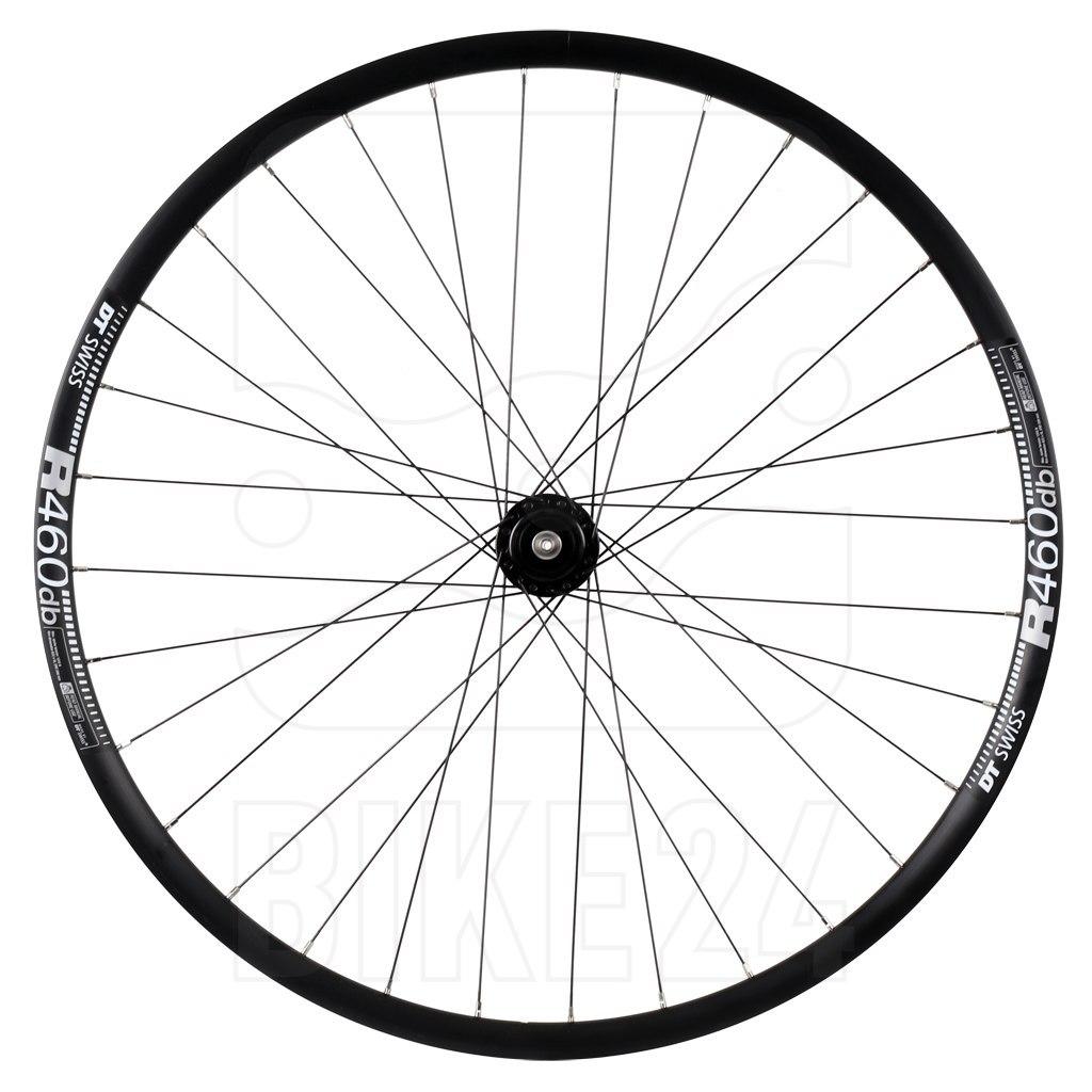 "SON delux | DT Swiss R460 db - 28"" Front Wheel with Hub Dynamo - Centerlock - QR"