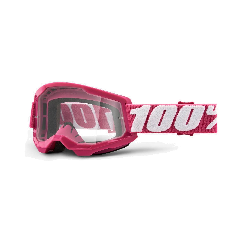 100% Strata 2 Goggle Clear Lens Gafas - Fletcher