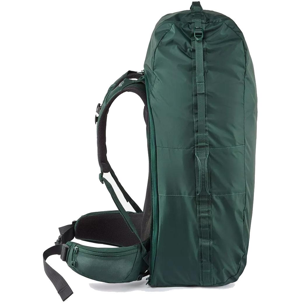 Image of Lowe Alpine Escape Trek 60:70 Large Backpack - Black