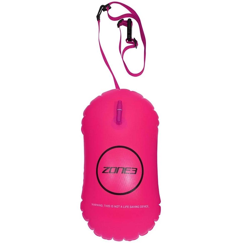 Zone3 Swim Safety Buoy / Tow Float - 28L Schwimmboje - neon pink