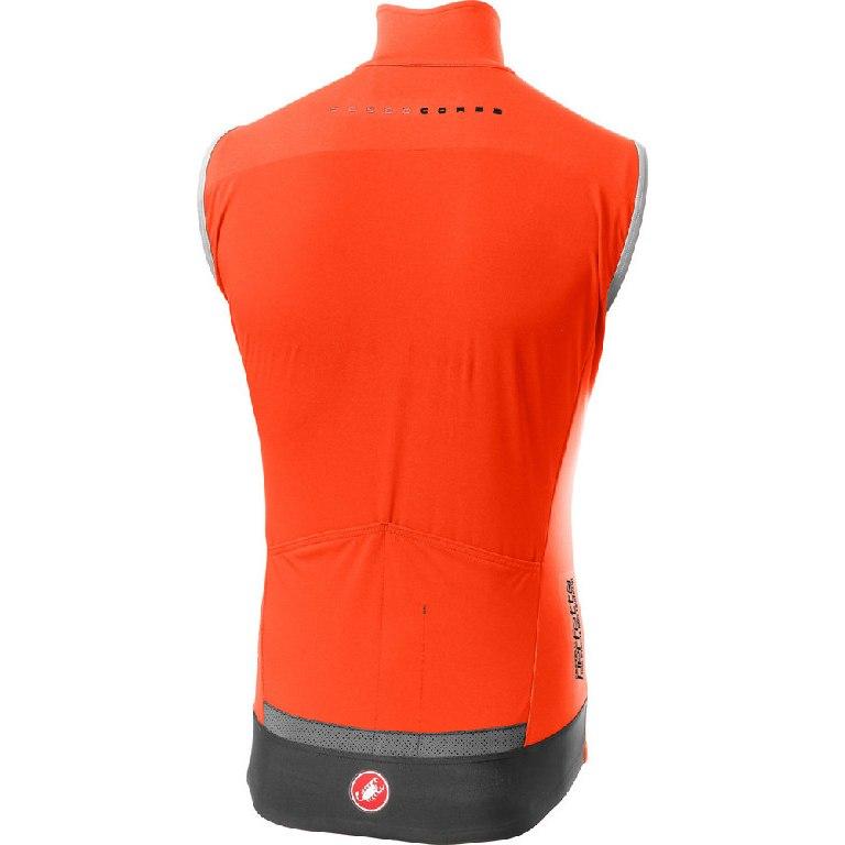 Image of Castelli Perfetto RoS Vest - orange 034