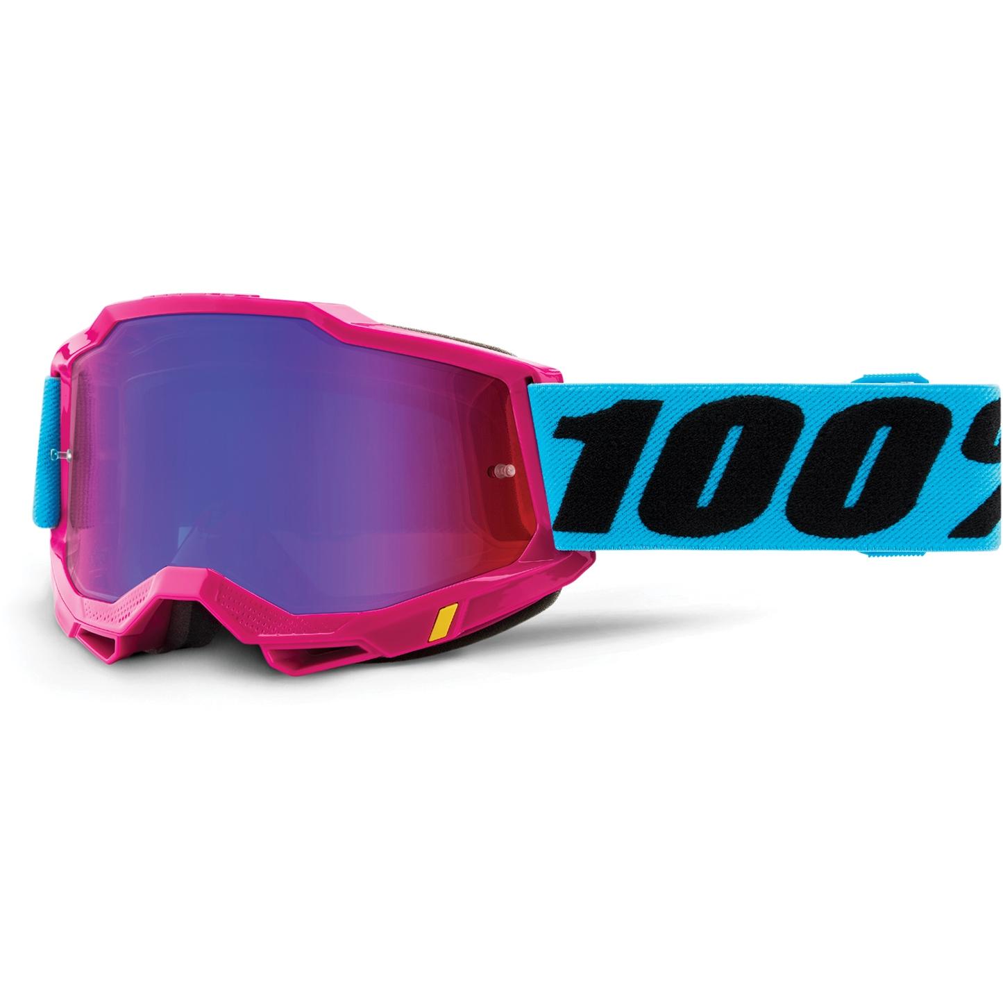 100% Accuri 2 Goggle Mirror Lens Gafas - Lefleur