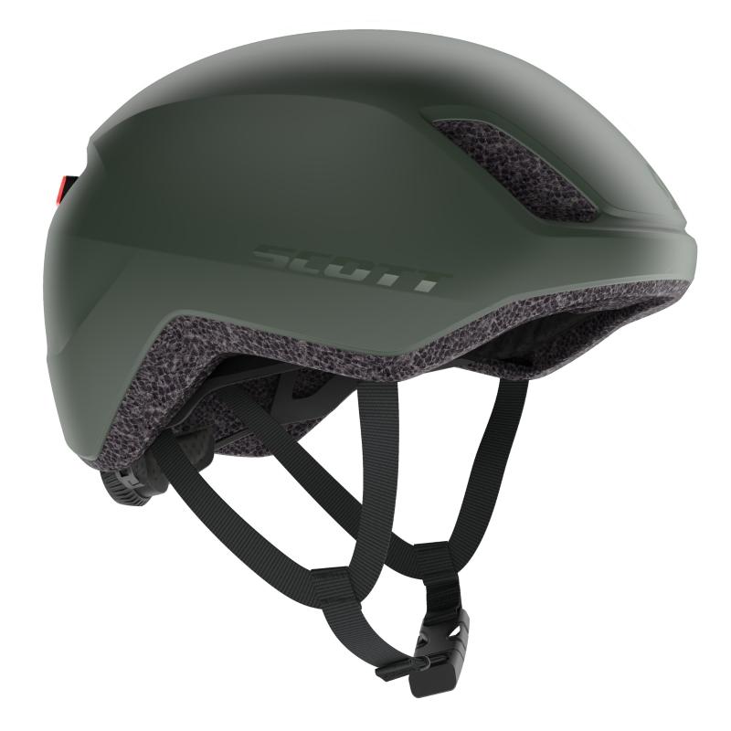 SCOTT Il Doppio (CE) Helmet - smoked green