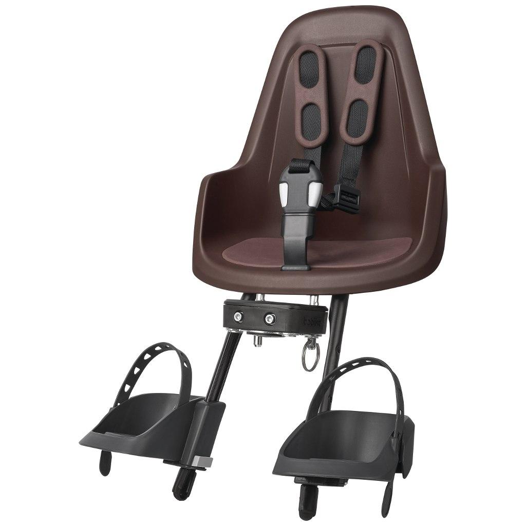 Bobike ONE mini Child Bike Seat - Coffee Brown