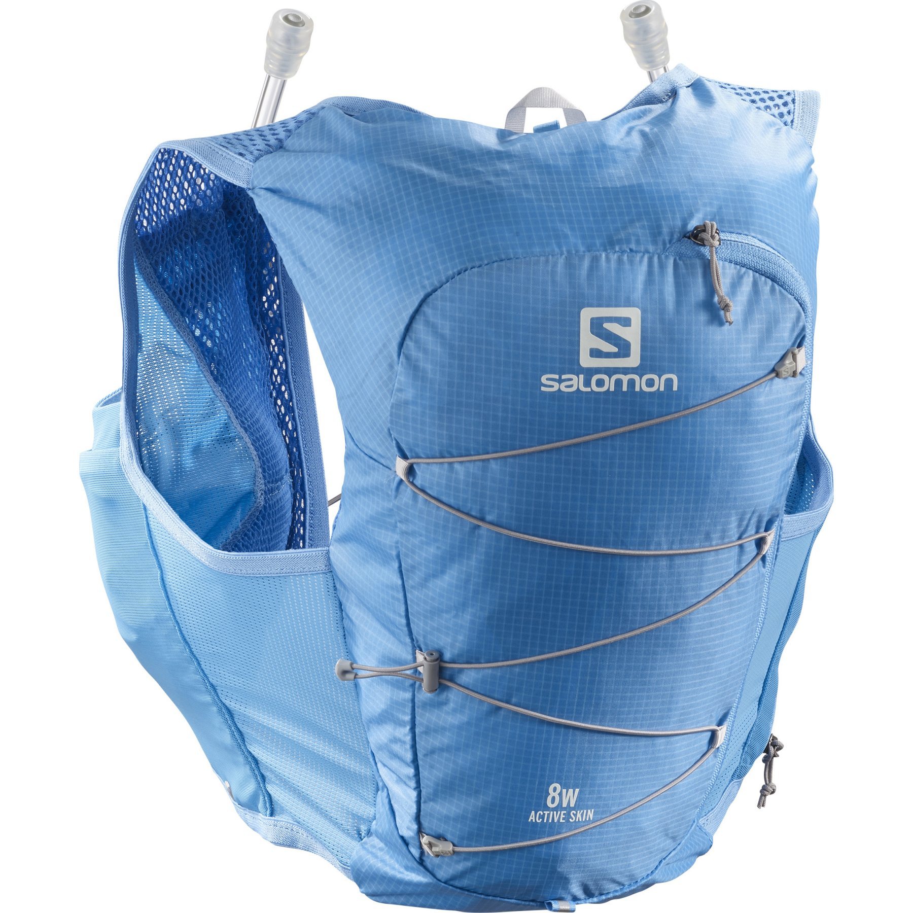 Picture of Salomon Active Skin 8 Set Women's Running Vest - marina/alloy
