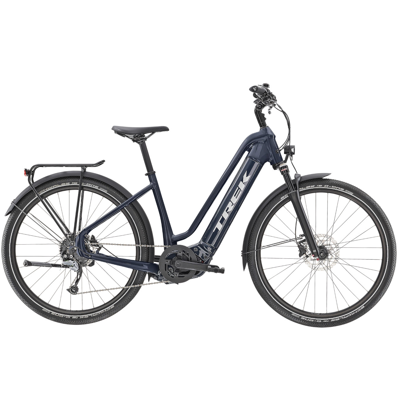 Trek Allant+ 7 Lowstep Tiefeinstieg E-Bike - 2022 - Nautical Navy