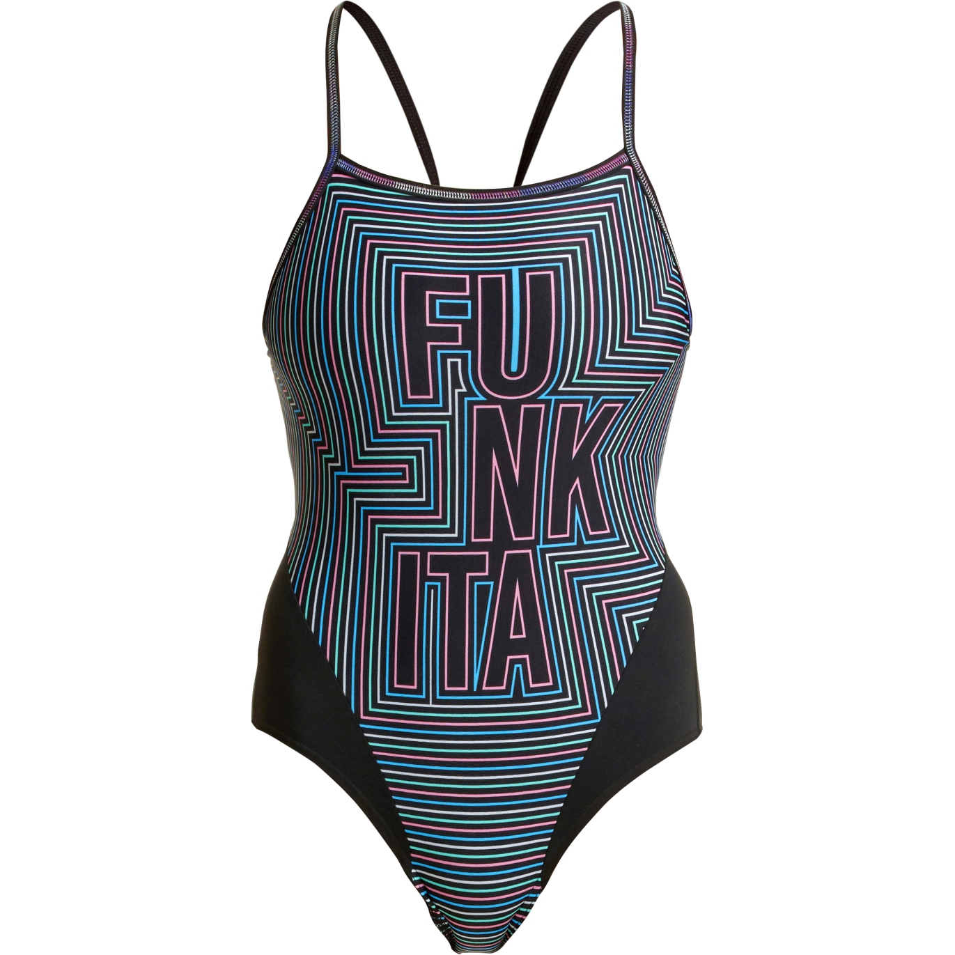 Funkita Ladies Single Strap One Piece Swimsuit - Use Your Illusion