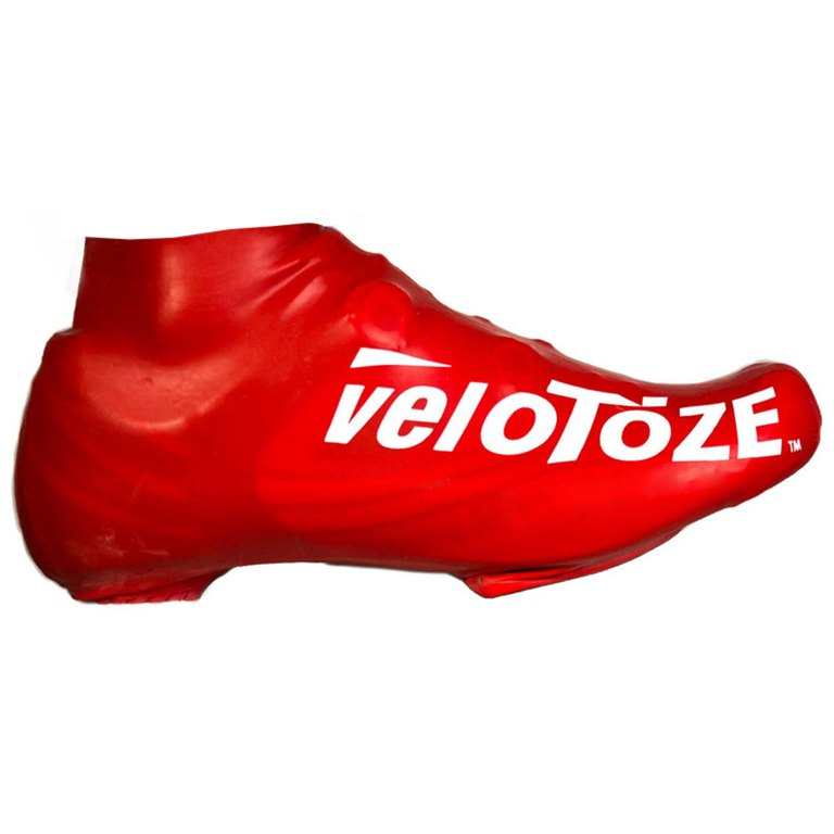 veloToze Short Shoe Cover Road - red