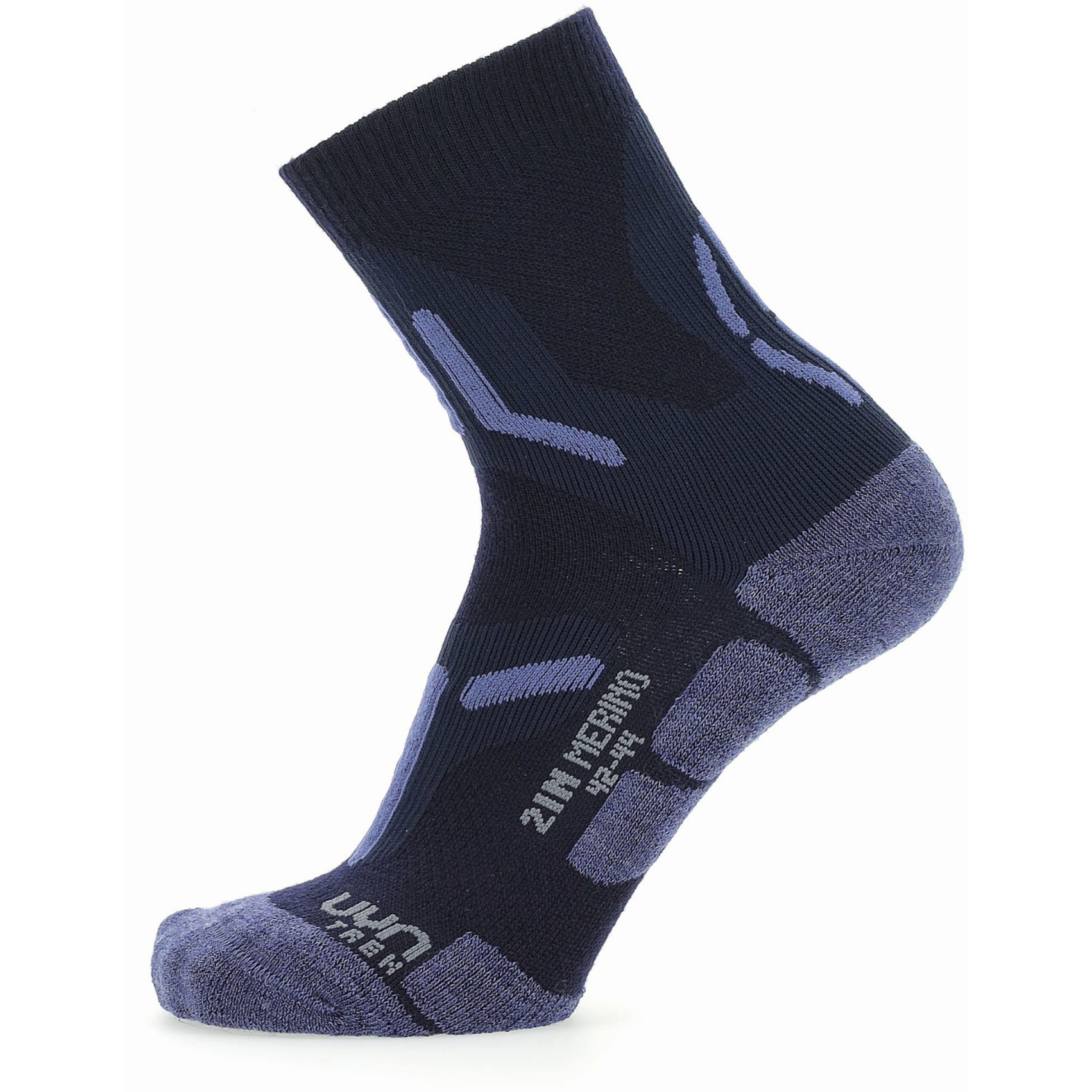 UYN Trekking 2In Merino Socks - Navy/Jeans