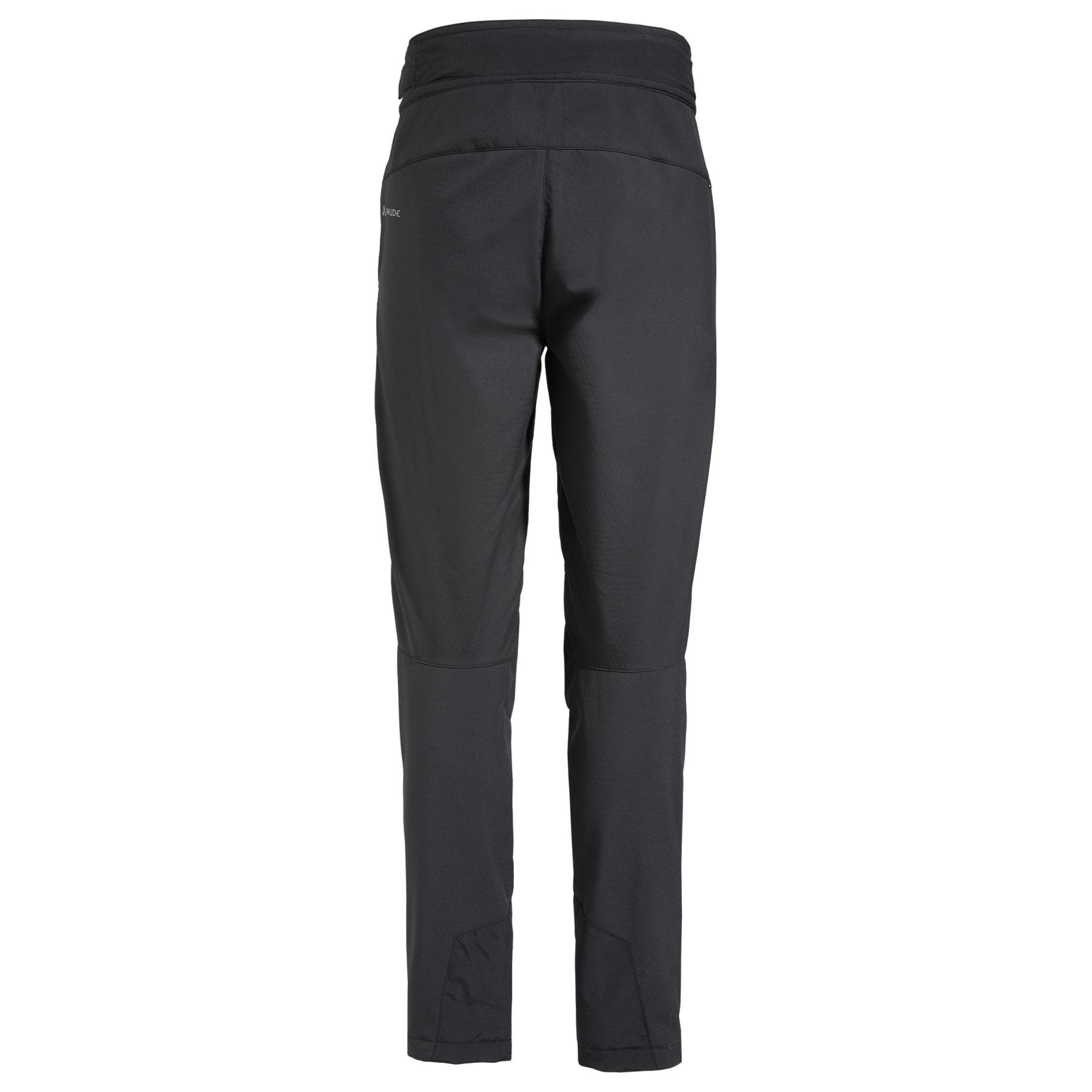 Image of Vaude Men's Zetar Softshell Pants - black