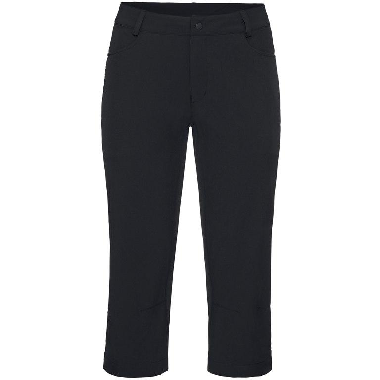 Vaude Women's 3/4 Yaki Pants II - black