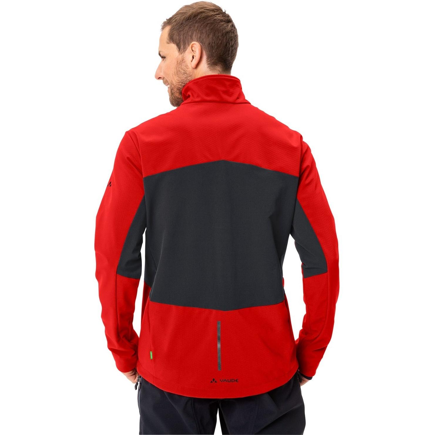 Image of Vaude Men's Virt Softshell Jacket II - mars red