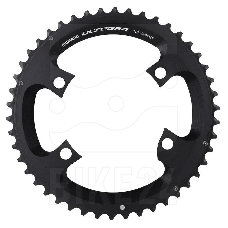 Image of Shimano Ultegra R8000 Chainring 2x11-speed - black