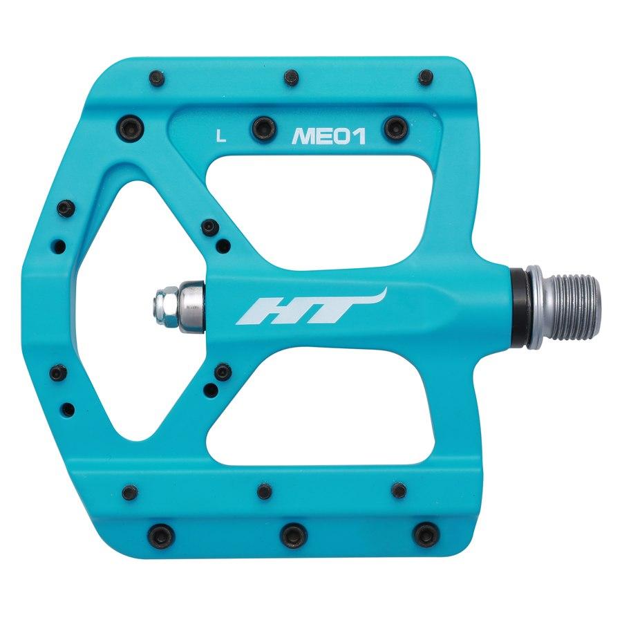 Image of HT ME01 EVO+ Flat Pedal Magnesium - matte blue