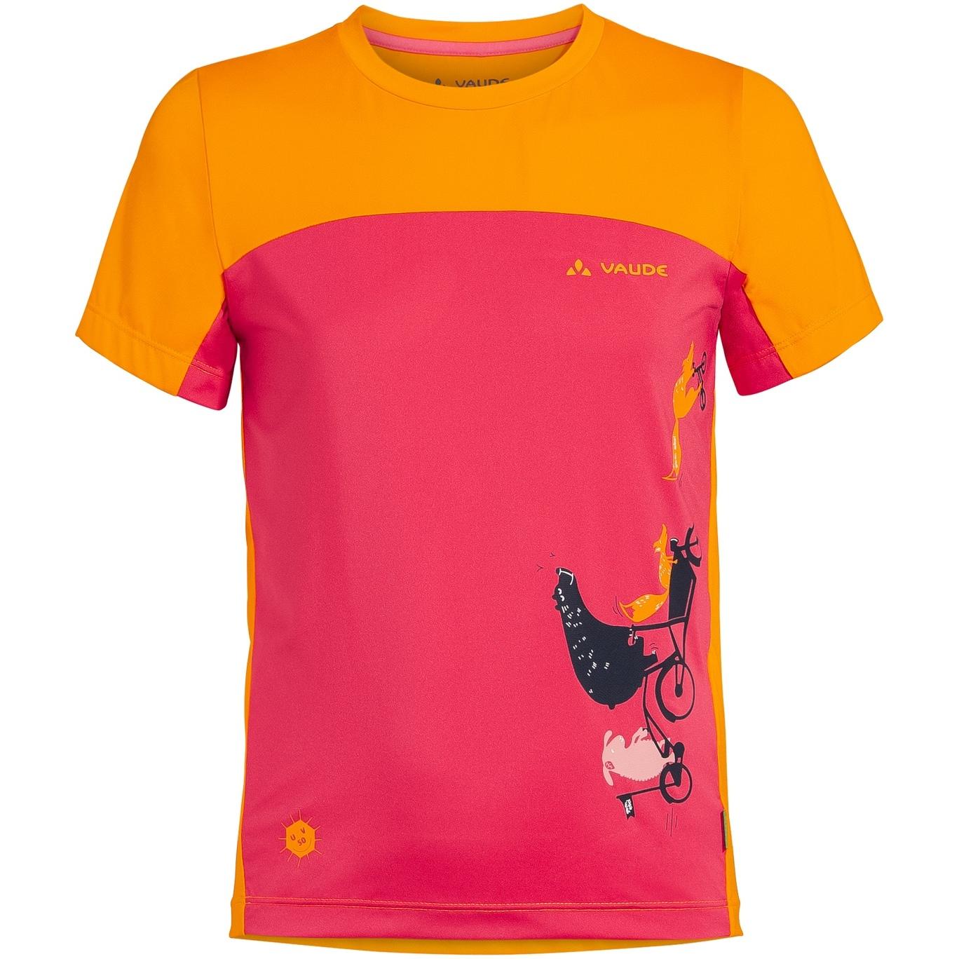 Vaude Kids Solaro T-Shirt II - bright pink