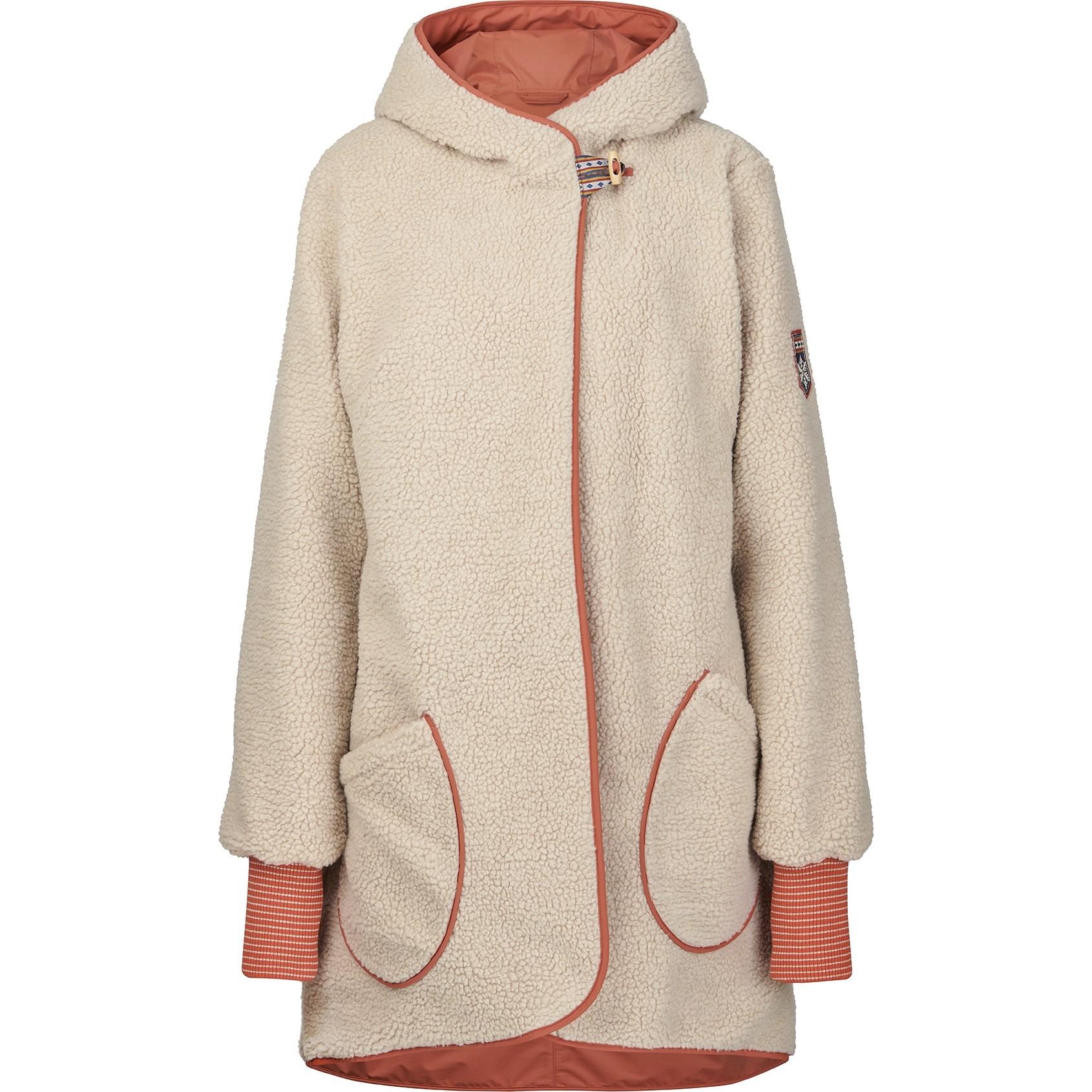 Image of Finside SUOMUKKA Women Reversible Winter Jacket - chili/pebble
