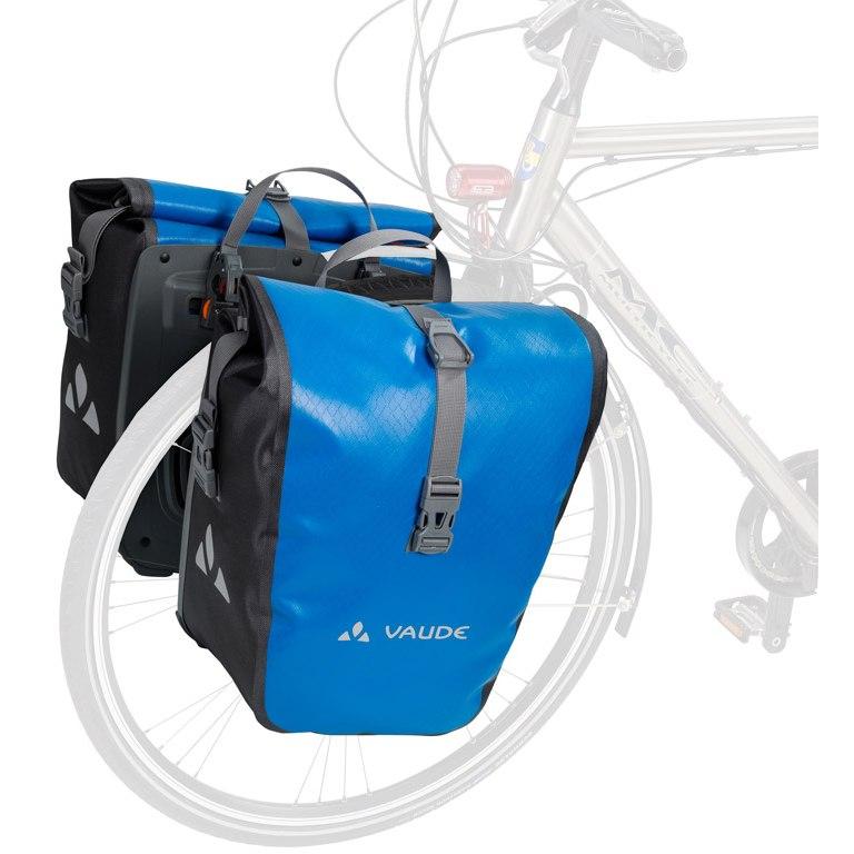 Image of Vaude Aqua Front Bike Pannier (Pair) - canary