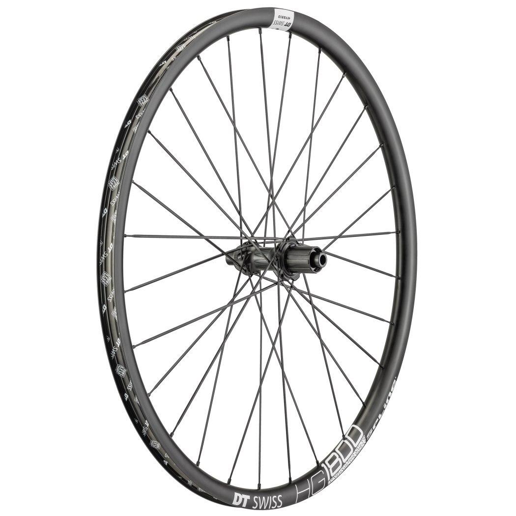 "DT Swiss HG 1800 Spline Black db 25 - 27.5"" Rear Wheel - Clincher - Centerlock / 6 Bolt - 12x142mm"