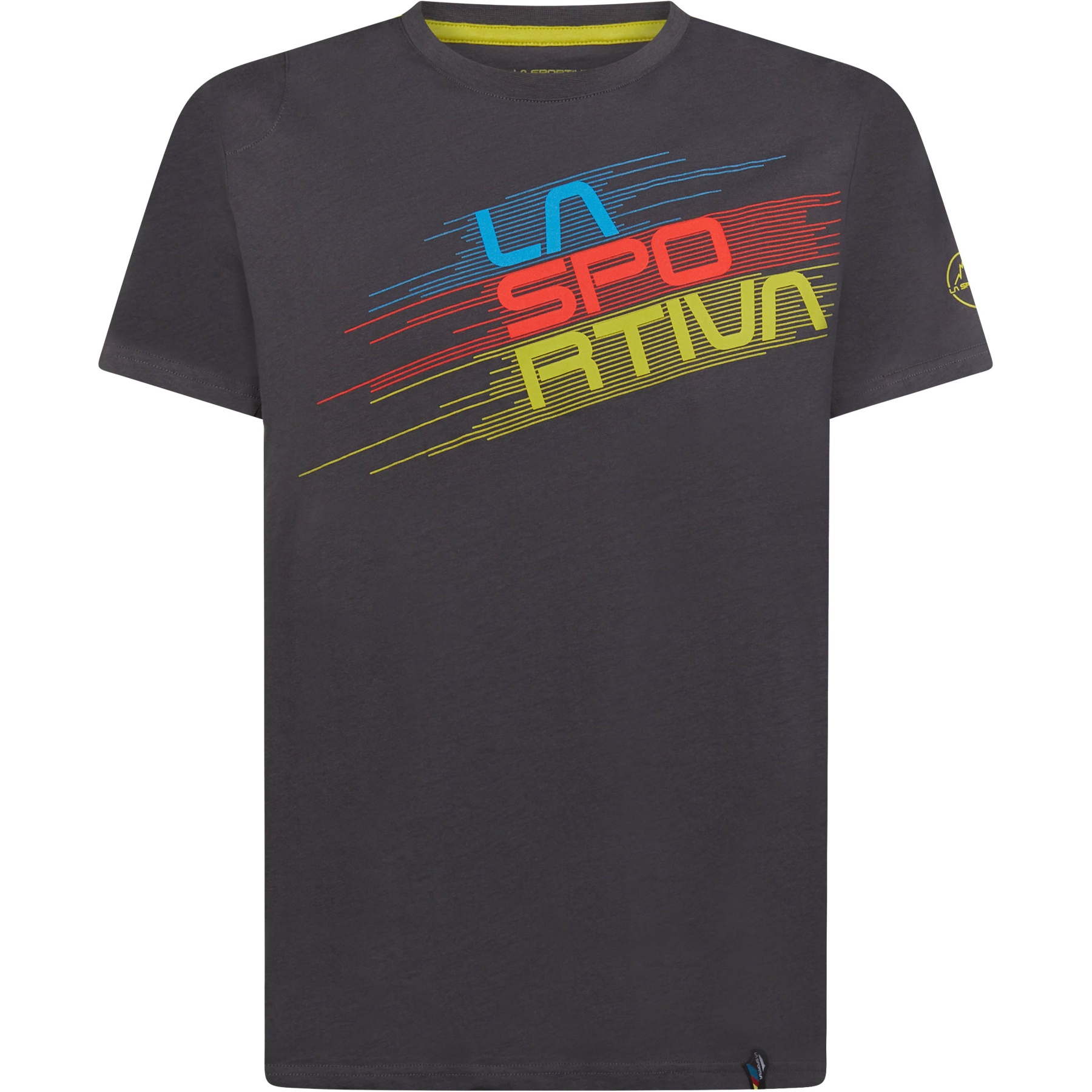 La Sportiva Stripe Evo T-Shirt - Carbon