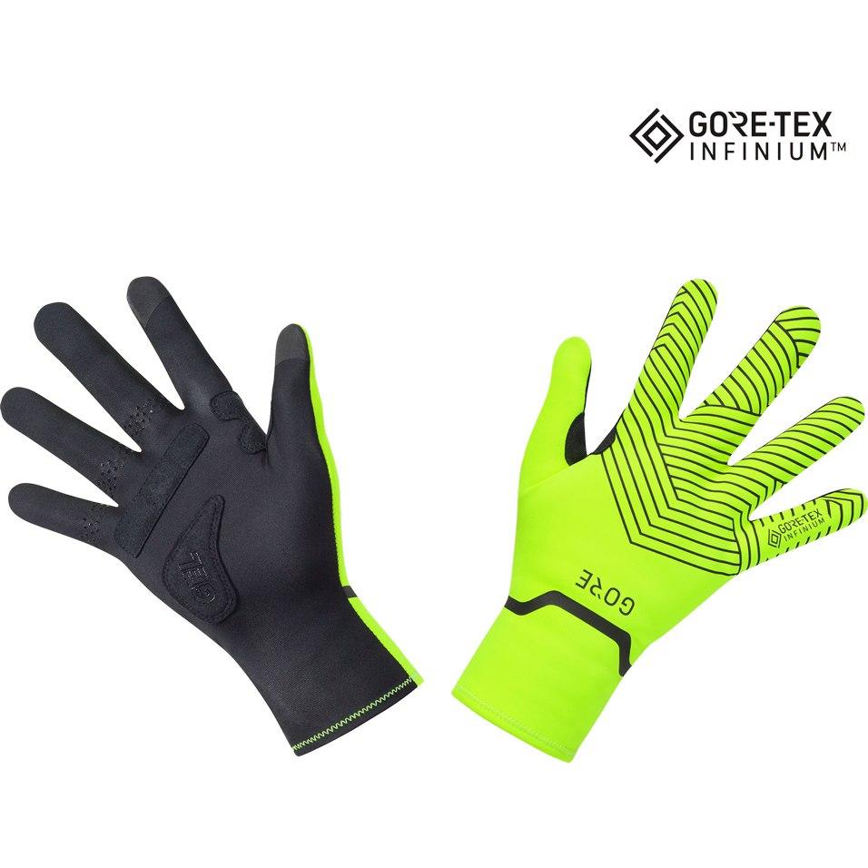 GORE Wear C3 GORE-TEX INFINIUM™ Stretch Mid Guantes - neon yellow/black 0899