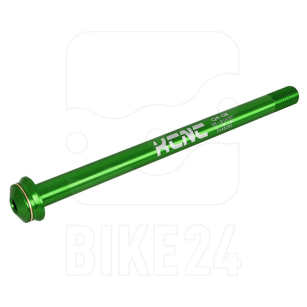 KCNC Thru Axle KQR08 - 12x148mm - 6061AL - green