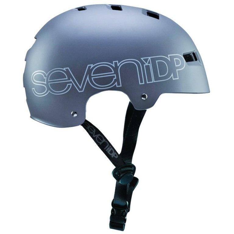 Imagen de 7 Protection 7iDP M3 Helmet 2018 - matt grey/gloss grey graphics