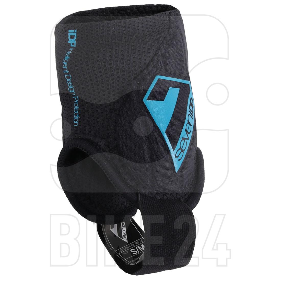 Imagen de 7 Protection 7iDP Control Ankle Protector Pads - black-blue