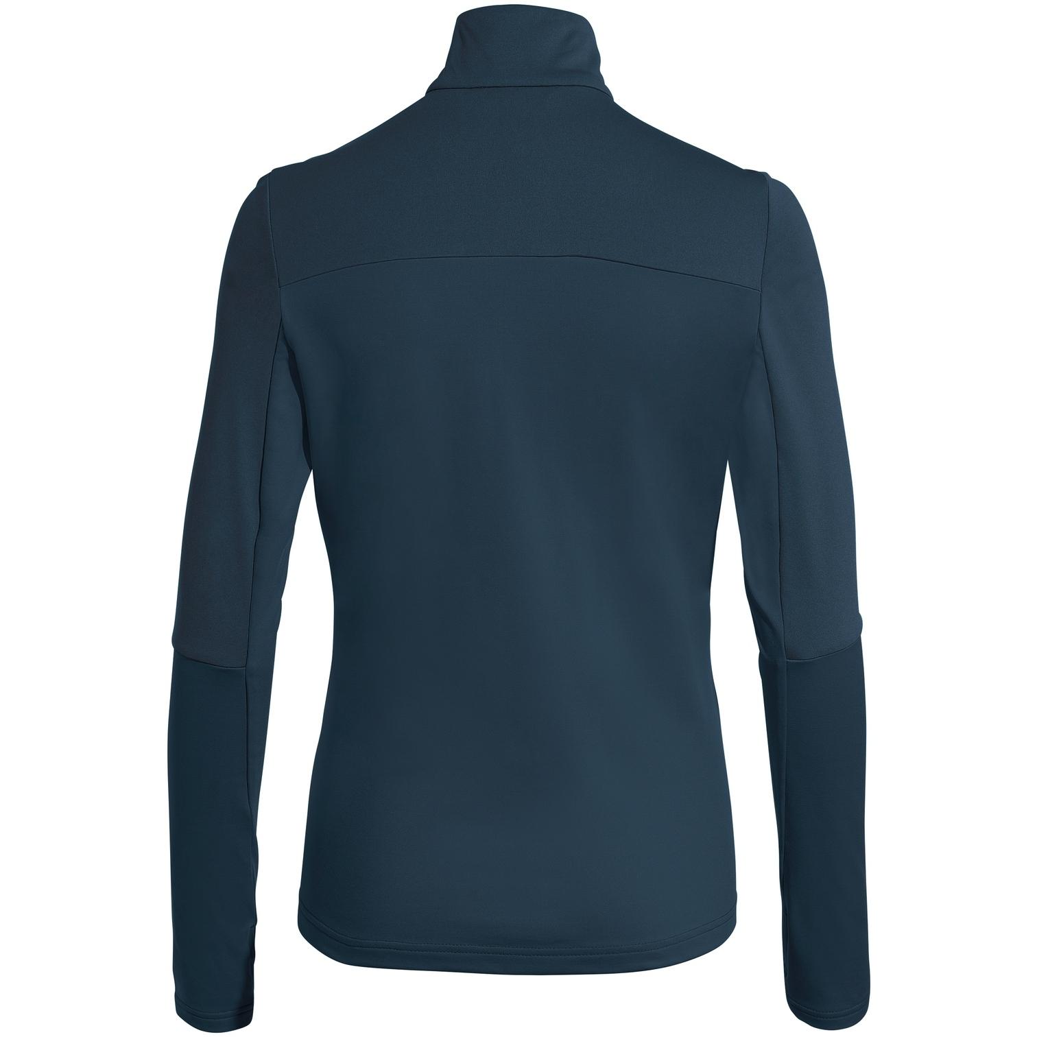 Bild von Vaude Livigno Halfzip II Damen Shirt - dark sea
