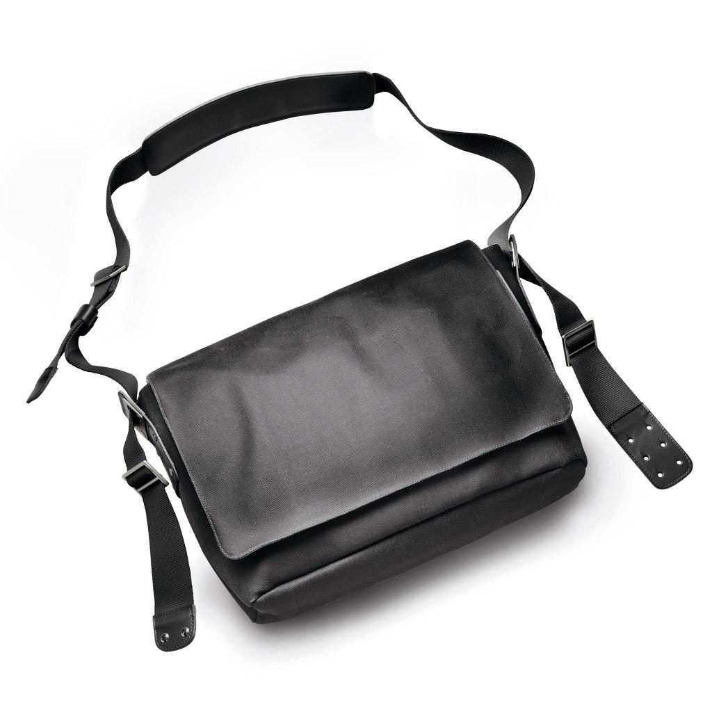 Brooks Barbican Shoulder Bag - total black