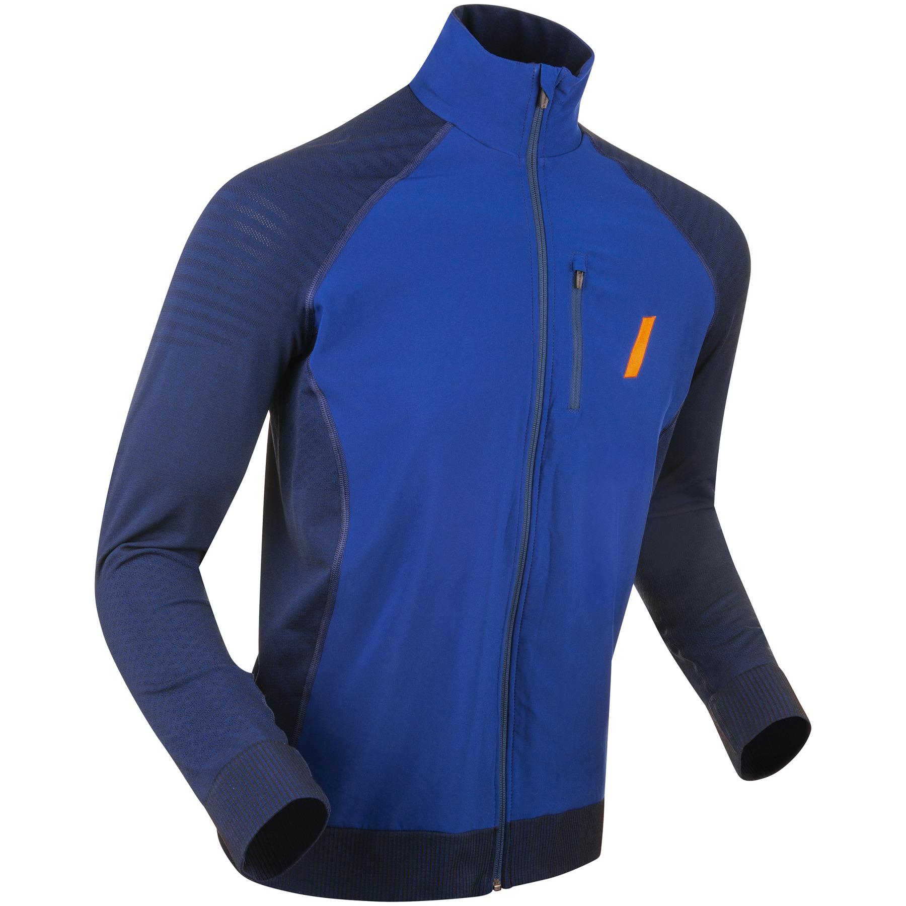 Daehlie Jacket Seamless Push for Men - Estate Blue 25300