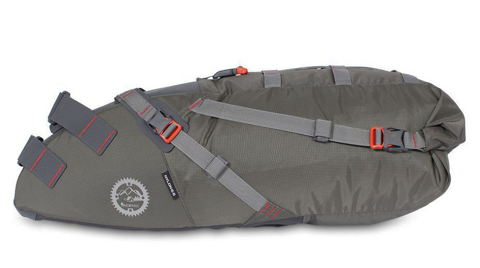 Acepac Saddle Bag - grey
