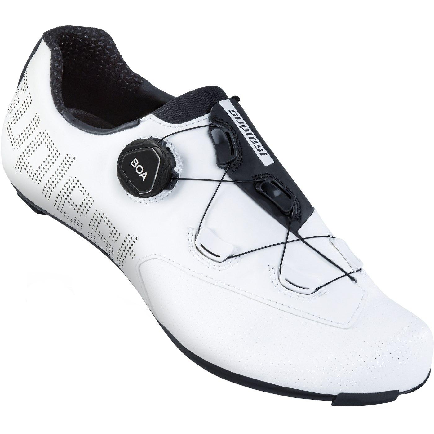 Image of Suplest EDGE+ BOA L6 Road Sport Road Shoe - White / Black 01.066.