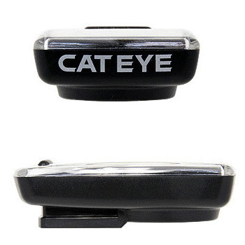 Image of Cat Eye Velo Wireless+ CC-VT235 W Cycle Computer - white