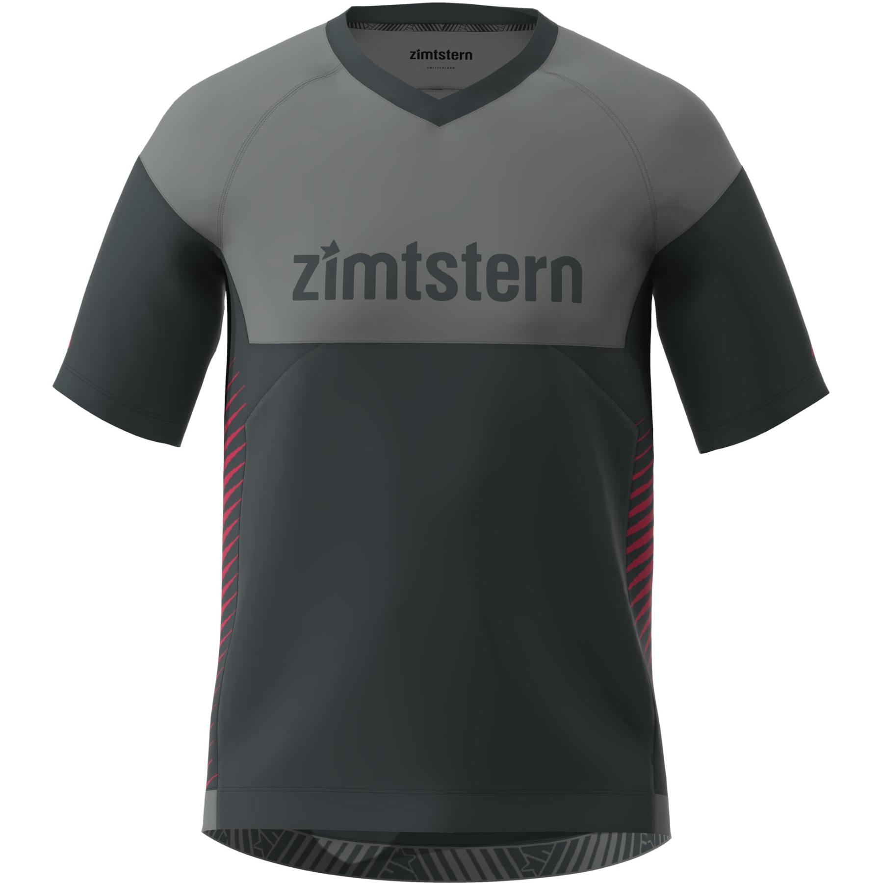 Zimtstern Bulletz Kurzarm-Shirt - pirate black/gun metal/jester red