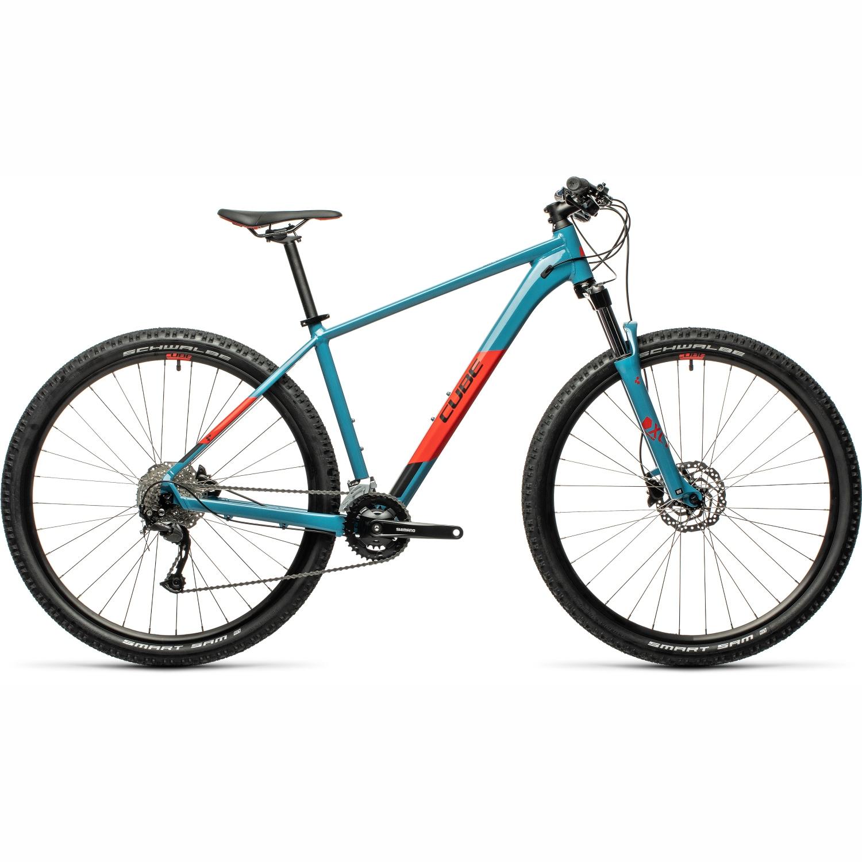 CUBE AIM EX - Mountainbike - 2021 - blue/red
