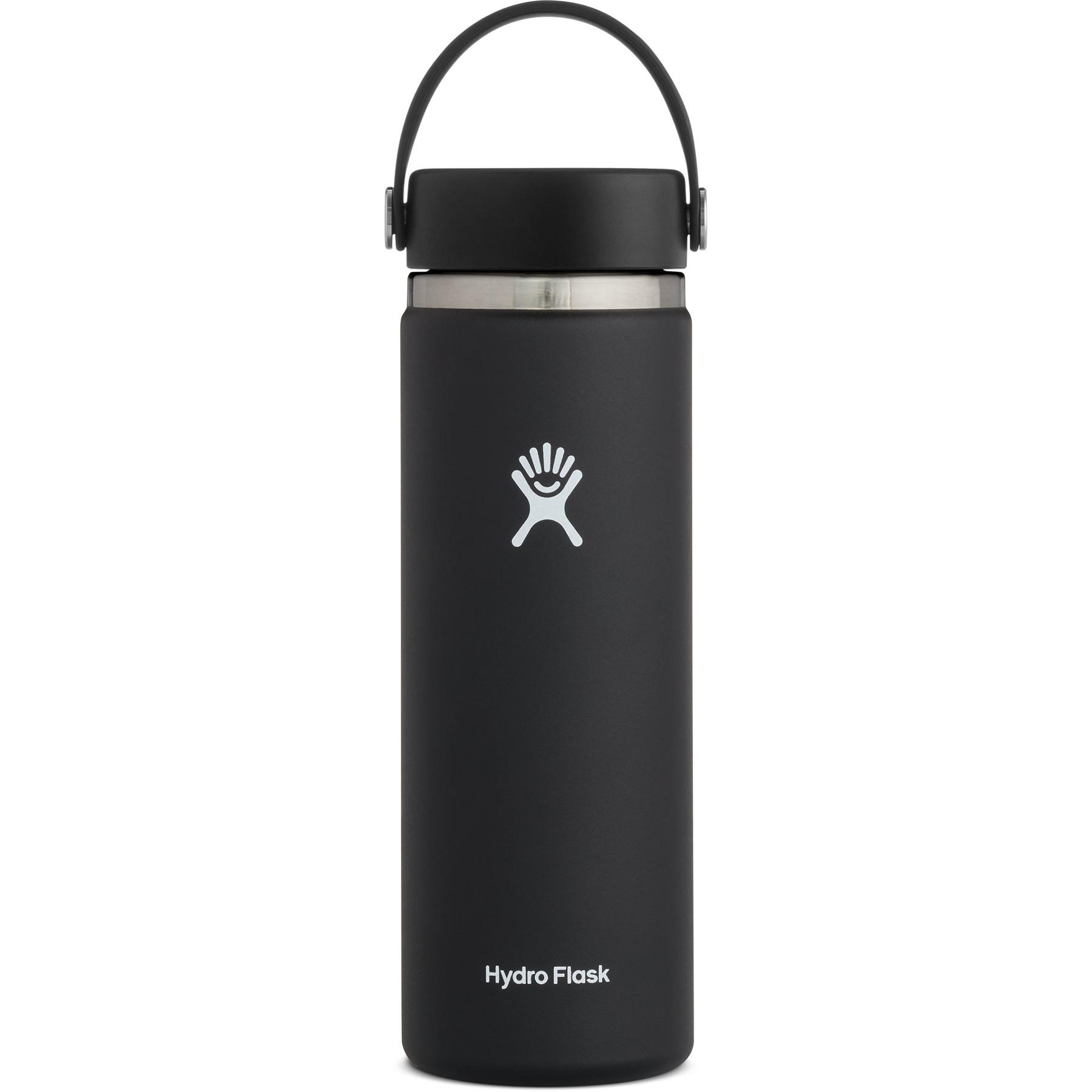 Produktbild von Hydro Flask 20oz Wide Mouth Flex Cap Thermoflasche 591ml - Black