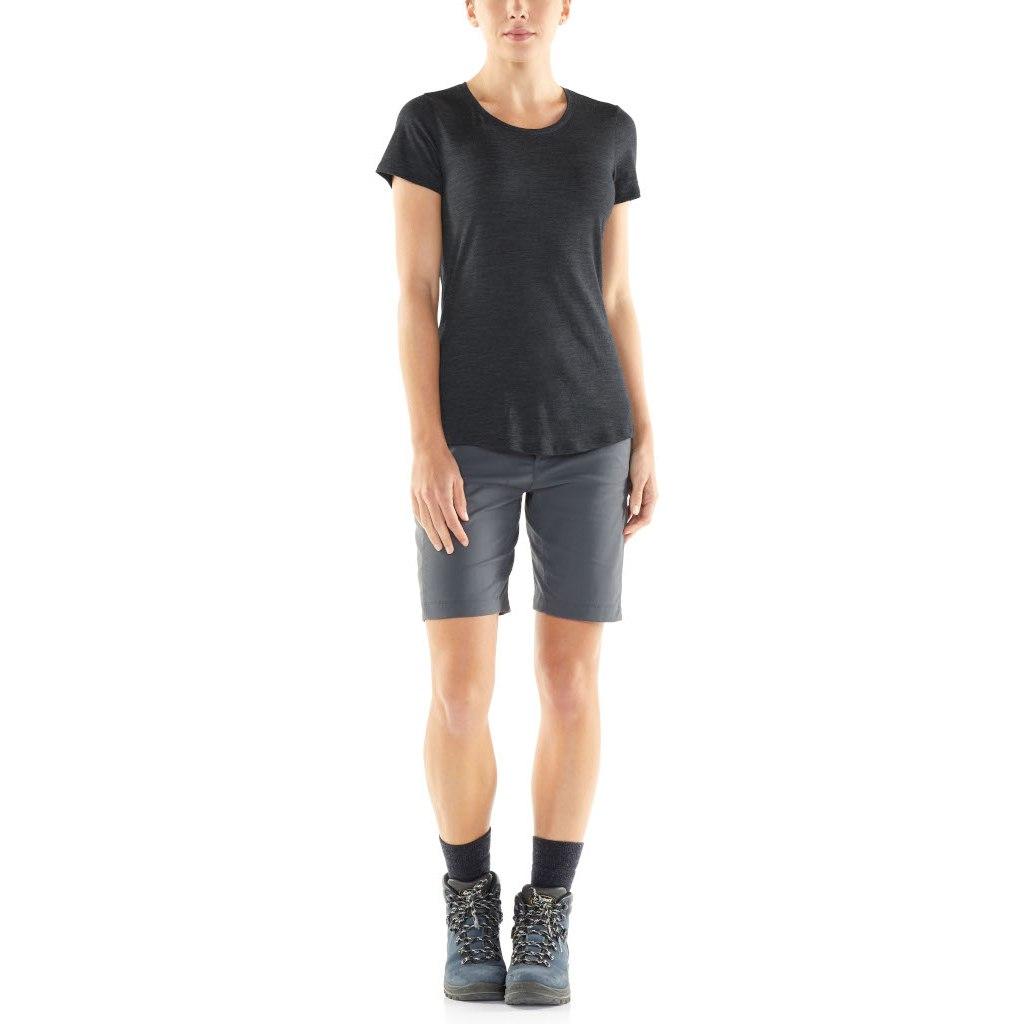 Bild von Icebreaker Sphere Low Crewe Damen T-Shirt - Black HTHR
