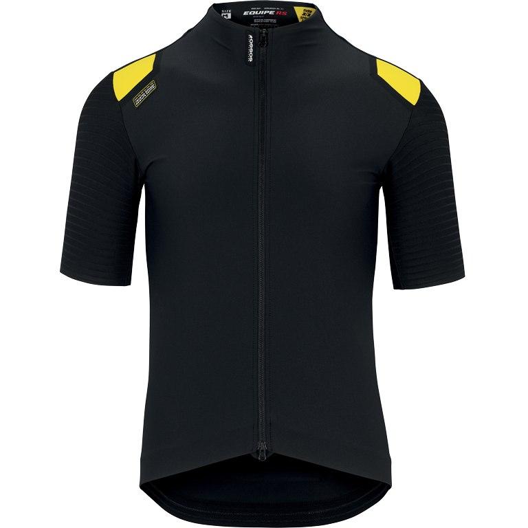 Assos EQUIPE RS Spring Fall Aero Short Sleeve Jersey - blackSeries