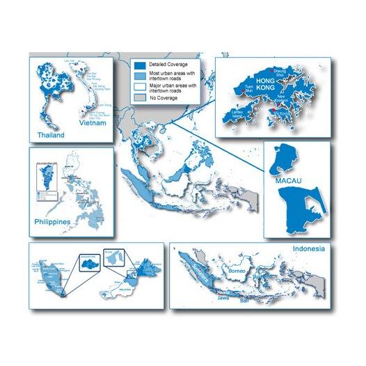 Bild von Garmin Kartenmaterial City Navigator Südostasien NT - microSD/SD Karte - 010-11652-00