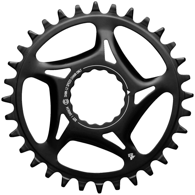 Race Face Cinch Direct Mount Plato - Acero - SH 12 Velocidades - negro