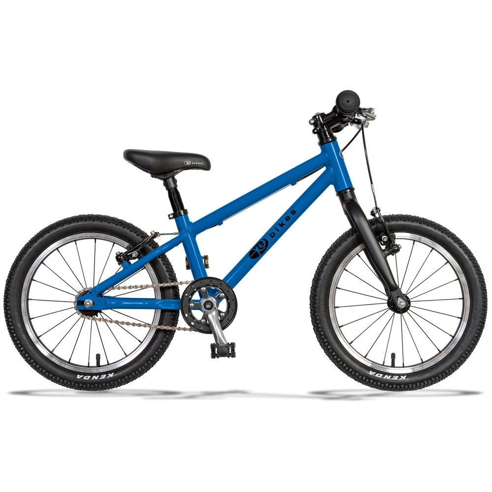 KUbikes 16L MTB Kids Bike - blue