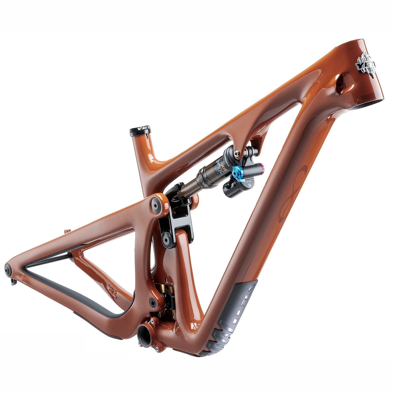 "Image of Yeti Cycles SB130 - T-Series 29"" Carbon MTB Frame - 2021 - Brick"
