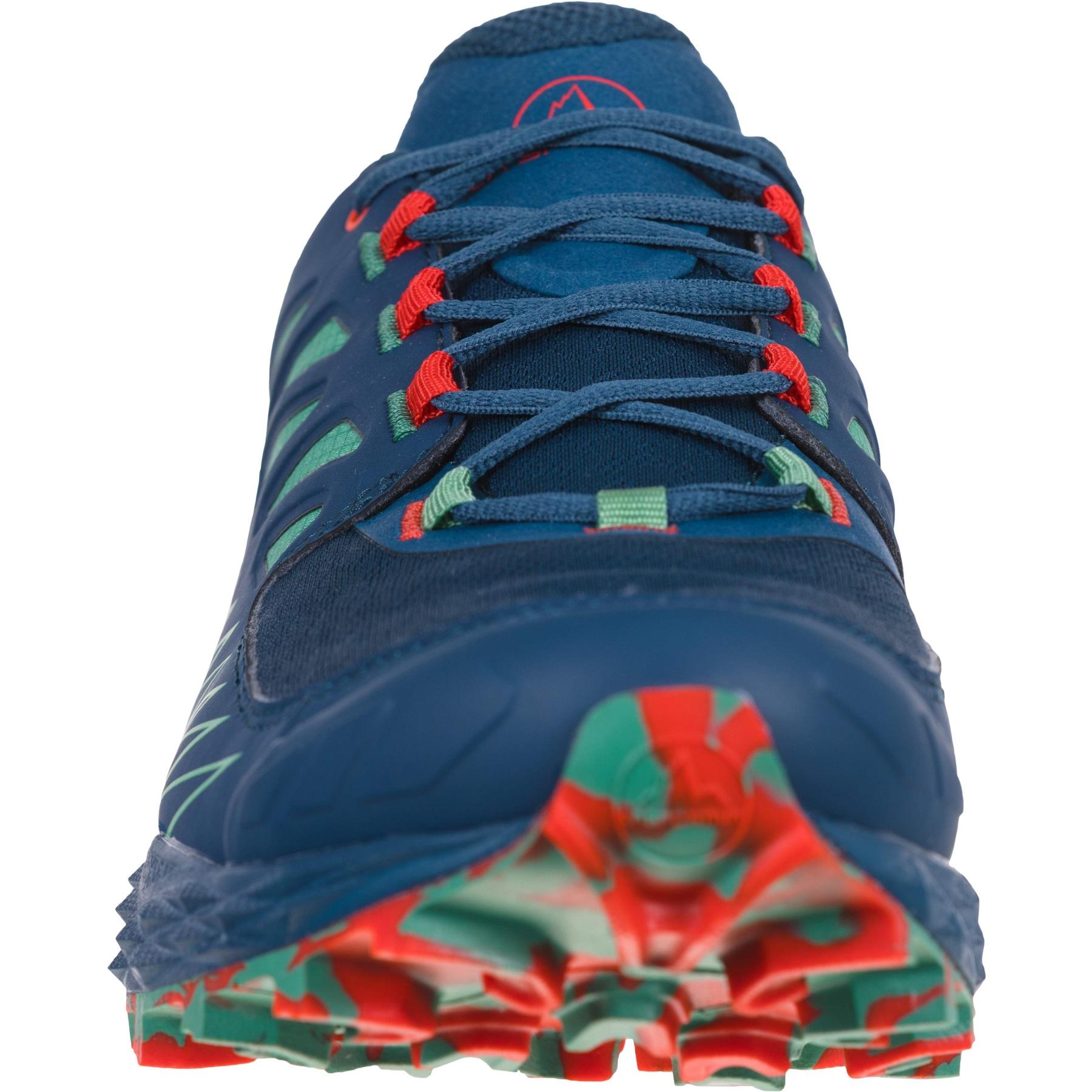 Image of La Sportiva Lycan GTX Running Shoes - Opal/Grass Green