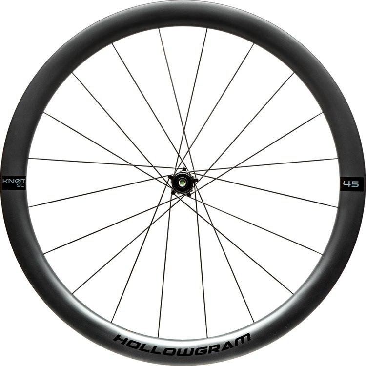 Cannondale Hollowgram SL KNOT 45 Carbon Front Wheel - Clincher - Centerlock - 12x100mm