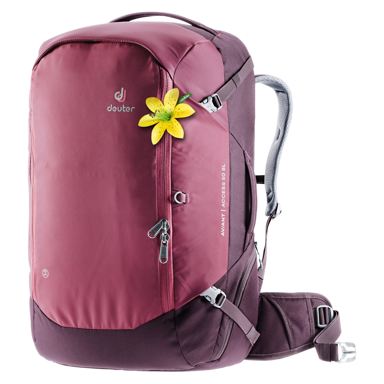 Deuter AViANT Access 50 SL - Women's Backpack - maron-aubergine